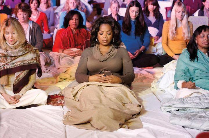 Опра Уинфри занималась трансцендентальной медитацией